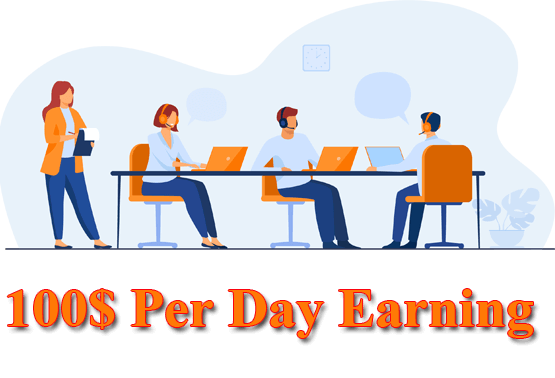 100 Per day Earning