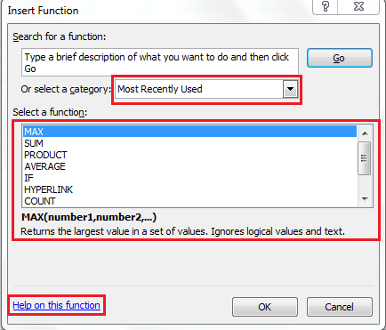 excel-functions