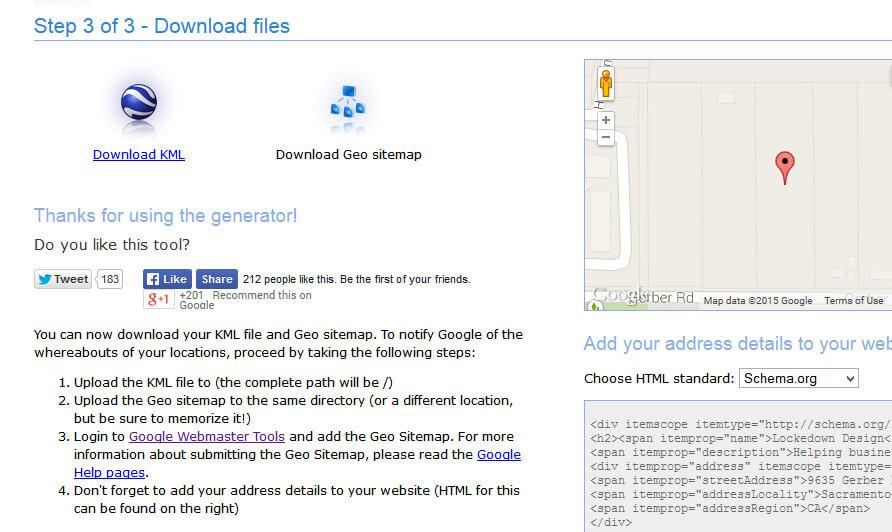 geo sitemap generator download