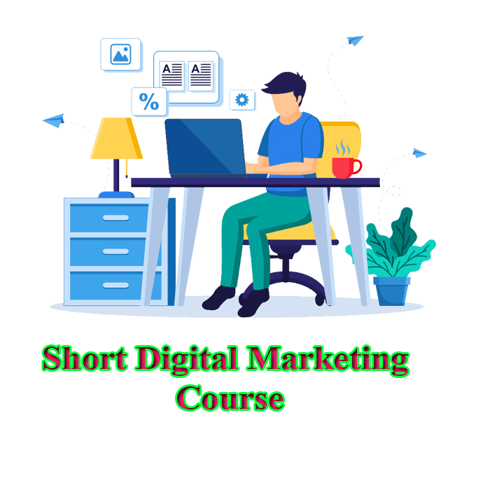 short digital marketing course